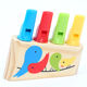 Wooden Instruments Whistle Children's Flute Baby Music Toy