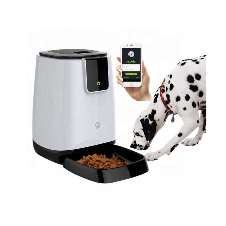 Automatic Pet Feeder [ Pet Feeders Automatic Feeder ] Automatic Feeders 2020 New Pet Bowls Feeders Wifi Remote Control Smart Automatic Pet Feeder