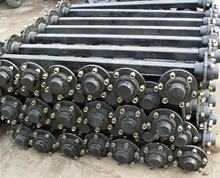 trailer parts use axles agriculture small trailer axles