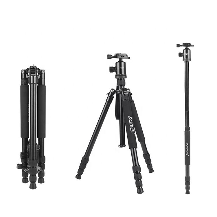Zomei Z818 Camera Tripod With Monopod And Ball Head Tripod Kit