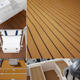 XYF 35''*90'' brown eva faux teak for marine, eva boat floor laminate decking sheets
