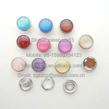 color pearl prong snap button