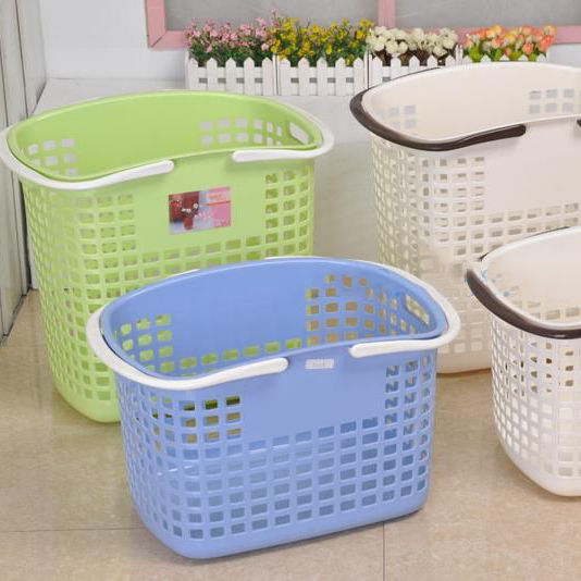 Factory supply good quality shopping basket plastic