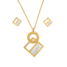 14k gold jewelry wholesale korean jewelry casual jewelry set bijoux