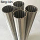 cylinder slotted sieve stainless steel screen pipe johnson tube Wedge wire screen slot tube well screen filter