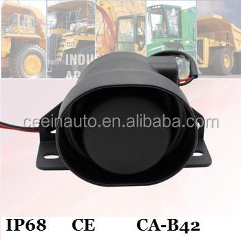Высокая скорость водонепроницаемый грузовик обратный сигнал тревоги 12 В-48 В резервной сигнализации обратного автомобиля Рог