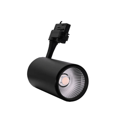 Factory supply black color 40 와트 LED track 광 대 한 슈퍼마켓 store spot lamps 현대 adjustable led track 조명