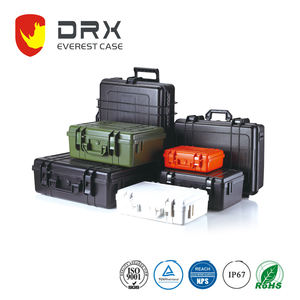 Hard plastic laptop travel case with noiseless and injection moulding