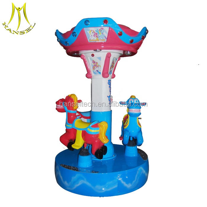 Hansel toddler play toys amusement carousel ride electric for kids mall center