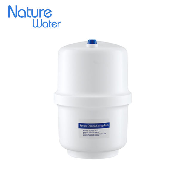 4G Plastic Water Pressure Tank for RO system Water Filter Parts