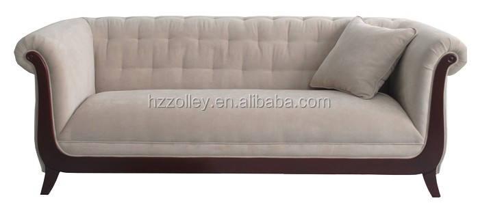 Italiano venta al por mayor del hotel sofá de respaldo alto Antique I sofá en forma de, sofá de la boda para el hogar