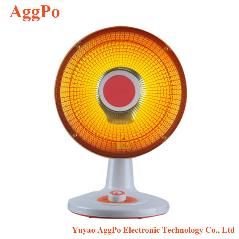 Portable electric Halogen heater infrared table fan heater room use portable Thermostat carton tube electric stand fan heater