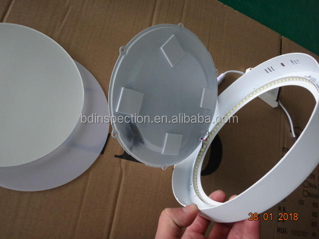 Inspection Service For LED Lamp In Zhongshan