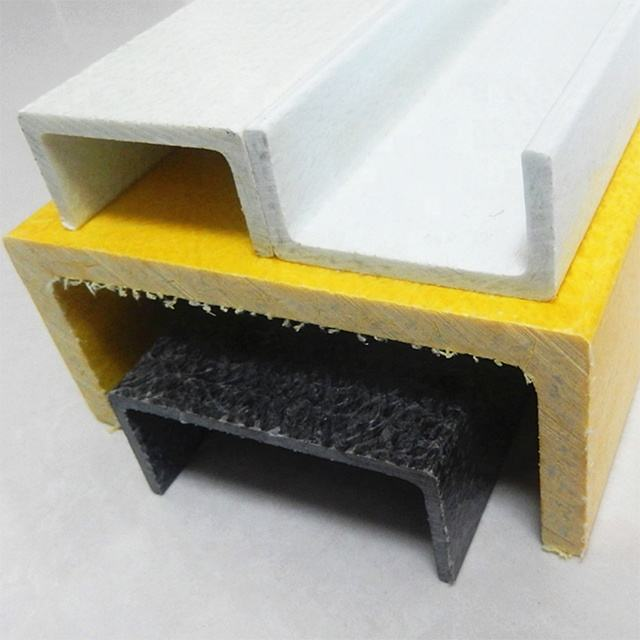 Pultruded Profile FRP Composite Channel