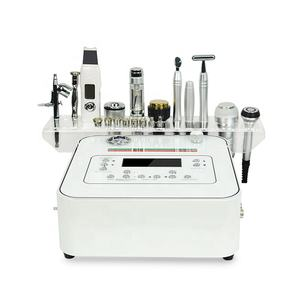 10 in 1 diamante professionale dermica microdermoabrasione mesoterapia elettroporazione microcurrent face lift macchina