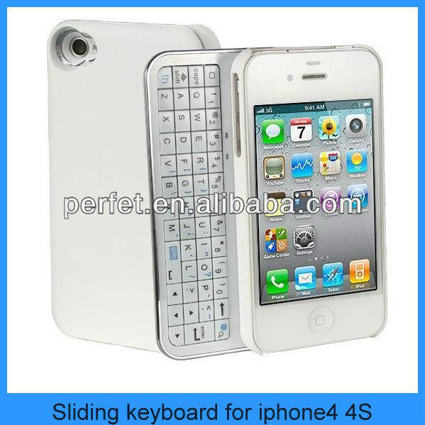 external keyboard for mobile phone for iphone 4 4s smartphone keyboard case