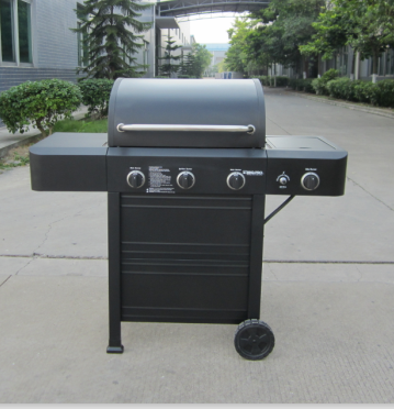 Hot Sell !! Gas Big Garden 4 Burner Outdoor Barbecue Grill (PG-40310S0L)
