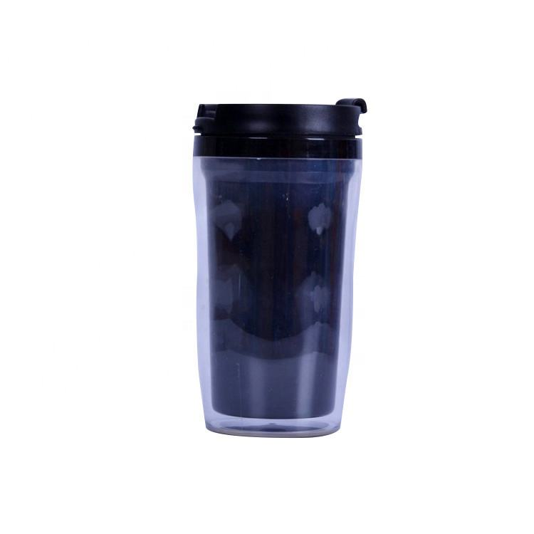 Promotional personalised double wall hard plastic sublimation mug supplier wholesale
