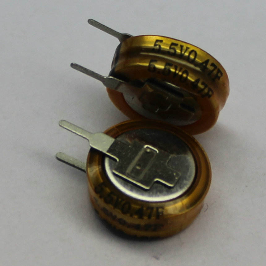 <span class=keywords><strong>TJ</strong></span> 5.5 V ultracondensadores 4F botón tipo C H V moneda Super condensador de China