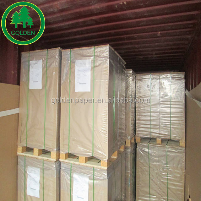 250gsm 300gsm 350gsm C1S ivory paper board/white cardboard packing paper