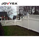 Easily assembled privacy fence garden vinyl privacy fence