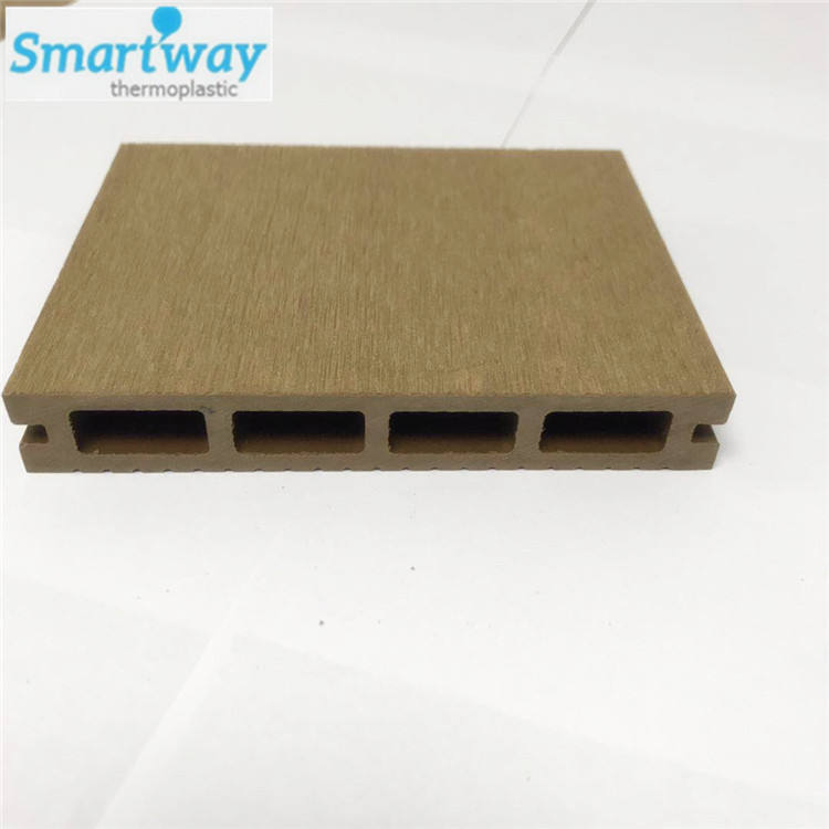 New design balcony decking outdoor wood composite wpc flooring tiles