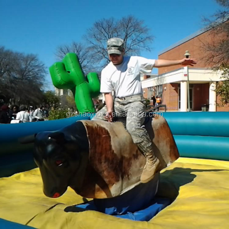 High Quality Inflatable Mechanical Bull,Riding Mechanical Rodeo Bull for Adult