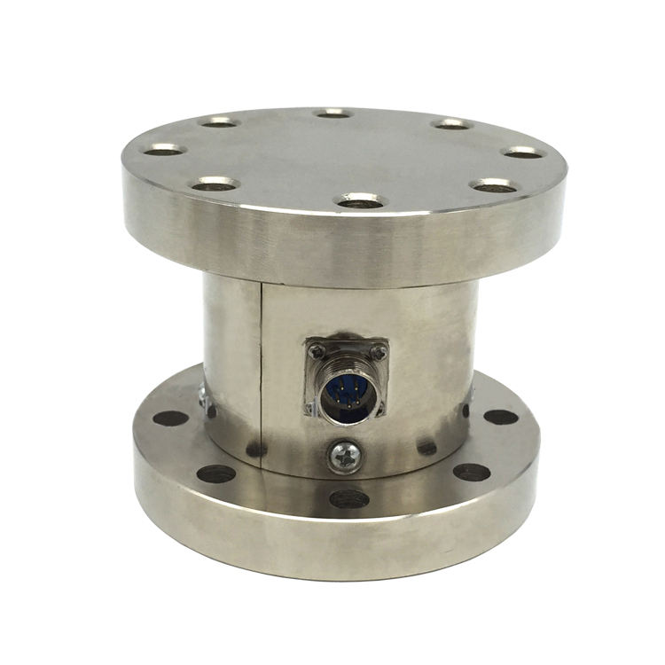 PLC527 1000t Circular flange tension pressure load cell scale sensor