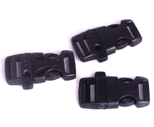 Alibaba Wholesale Outdoor Survival Plastic Whistle Paracord Buckle For Bracelet