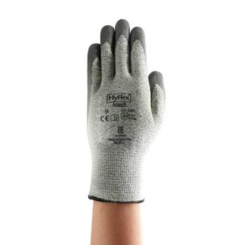 Ansell Grey Anti Cut Latex Work Nitrile Coated Gloves