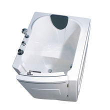 HS-1101 walk in tub shower combo elderly disabled/ bath tub walk/ front door walk in tub