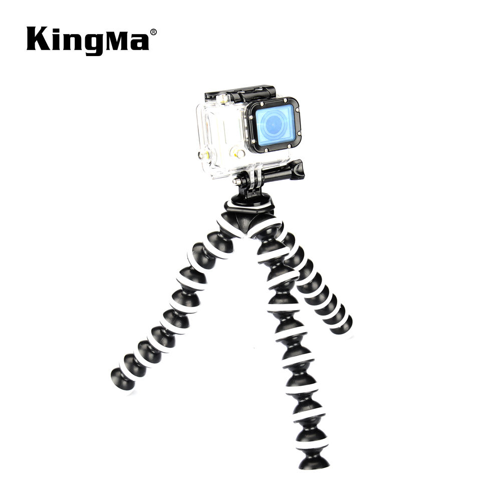 KingMa Big Size Flexible Tripod with Adjustable for Smartphone Camera