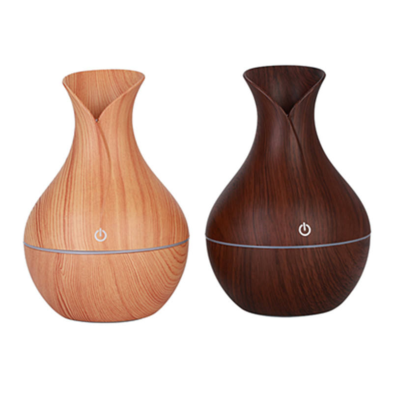 130mL Home Office Room easy clean LED Humidifier Oil Cool Air Diffuser Purifier air Ultrasonic usb aroma diffuser humidifier