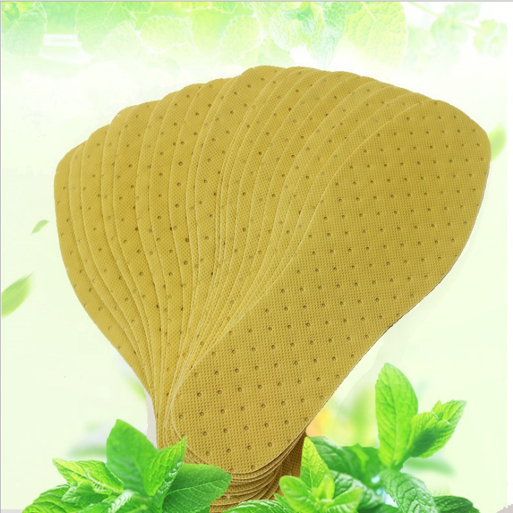 Natural disposable shoe insoles antistatic Free Cut Paper scented insole
