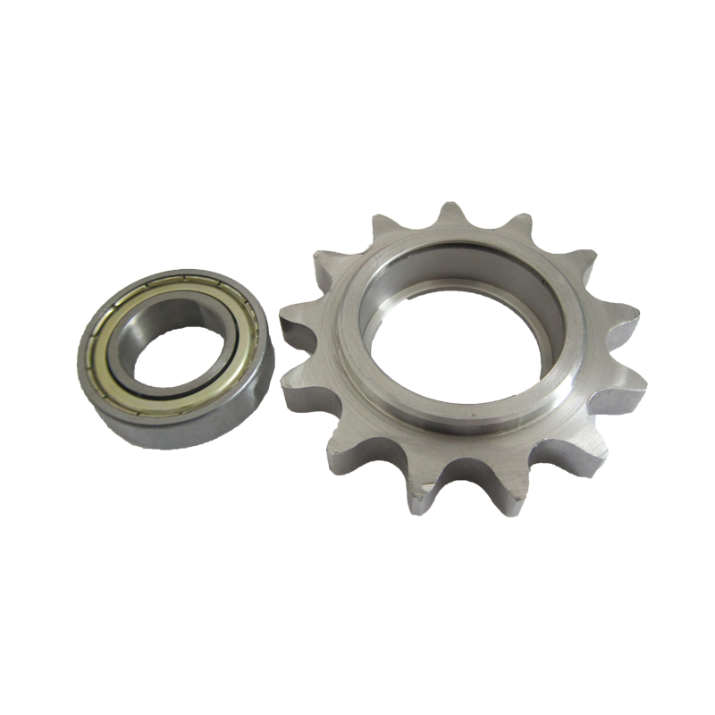 Zinc plated taper lock sprocket