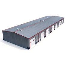 Low cost prefab building metal/steel structure shed/prefabricated barns