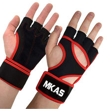 Customized Logo Sport Fitness Gloves