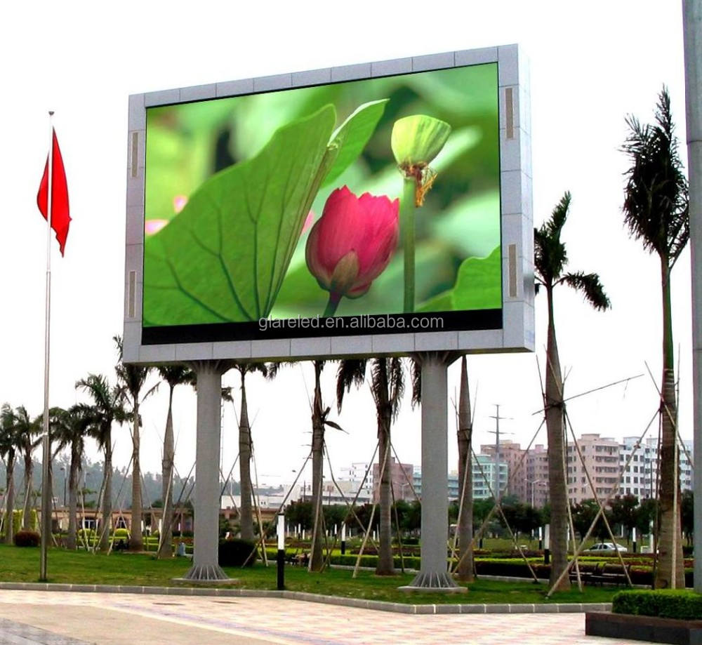High resolution text, graphics and animation LED display module