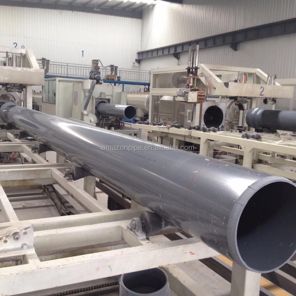 Factory price 6 inch diameter pvc pipe tube prices for water supply