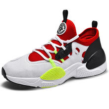 Low MOQ Latest Huarache 7 Style Brand Logo Customized Men Plus Big Size Air Breathable Sepatu Sport Pria Sports Shoes