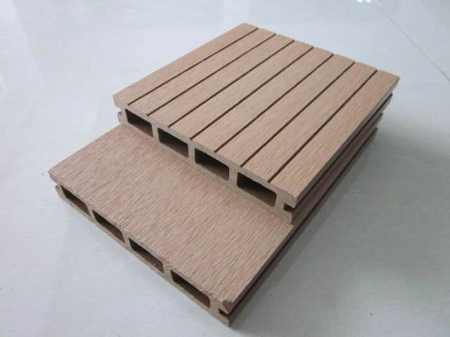 wood plastic composite hollow floating dock decking/flooring covering