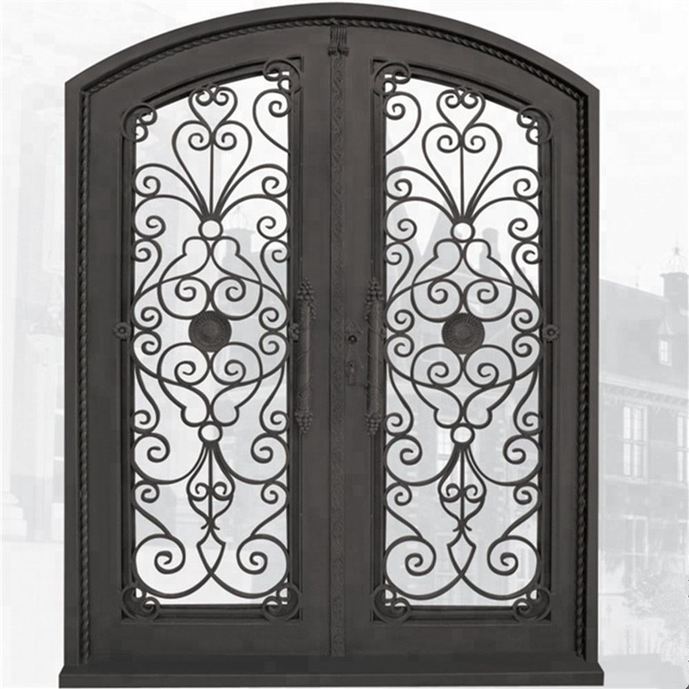 Beautiful French Garden Style Wrought Iron Doors