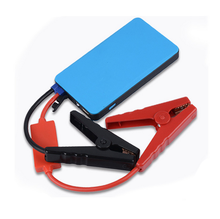 Mini portable jump starter emergency car kit with jumper cables 8000mah powerbank jump starter petrol