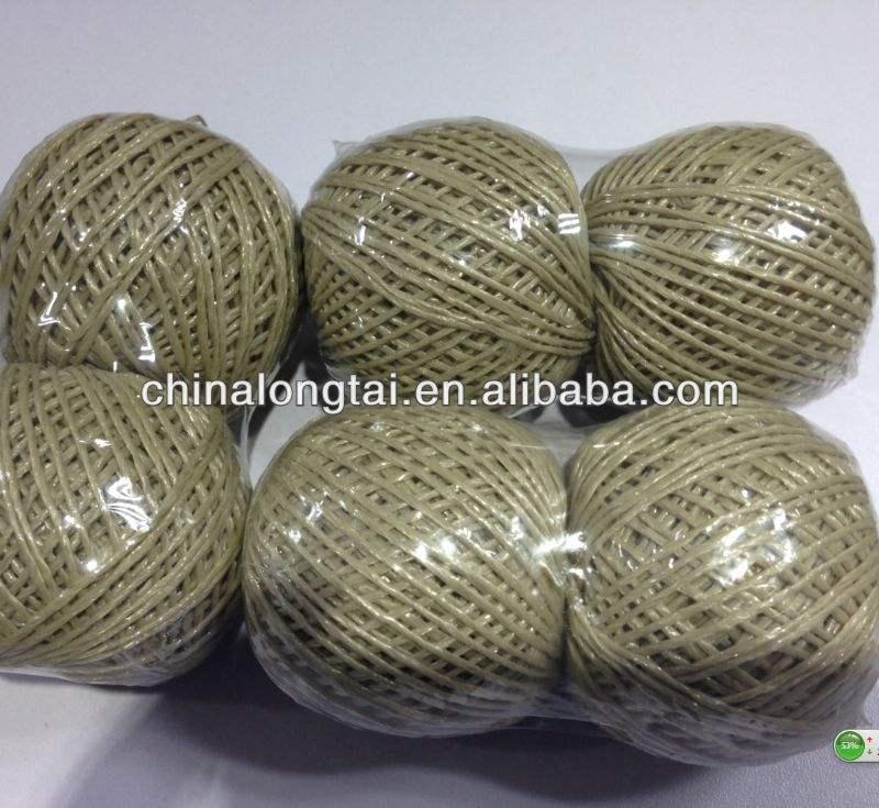 Pp fibrilada fios/costura/6mm trançado cordas fibrilado fabricante