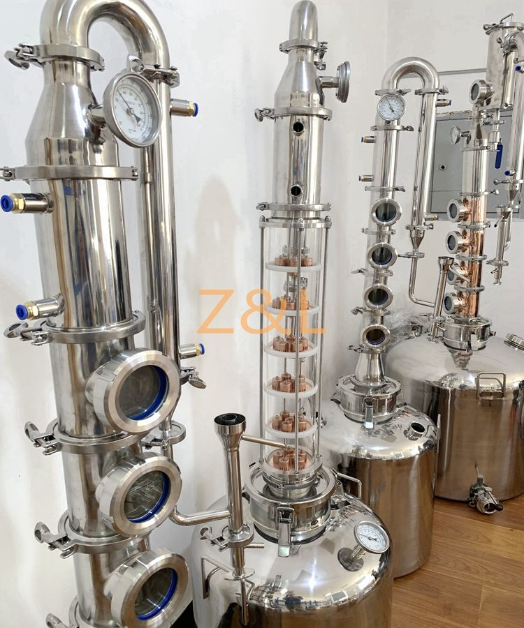 200L 300L 400L 500L gin vodka whiskey stills distillery equipment for sale