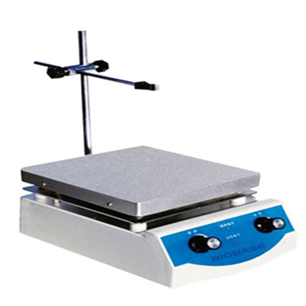 Laboratory 100-2000rpm Aluminum plate Hotplate Magnetic Stirrer BS-2H/3H