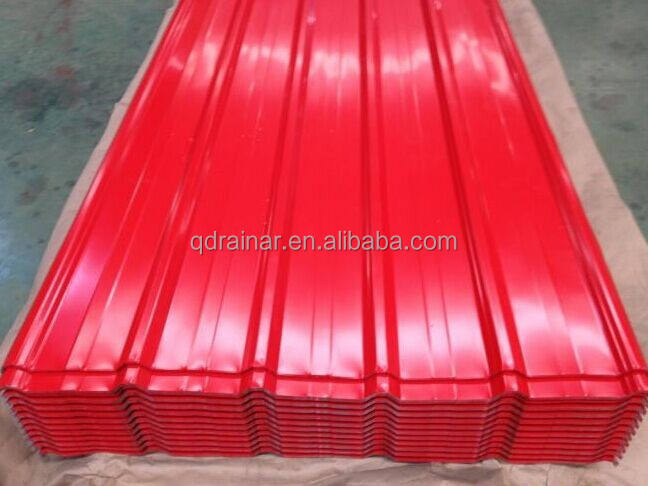 1200-1250mm width usd615 galvanized crgo corrugated roofing sheet