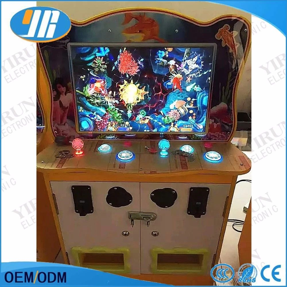 2019 new DIY Arcade kits Fishing machine parts Best quality best price 2/6/8player fishing machinewith coin operated