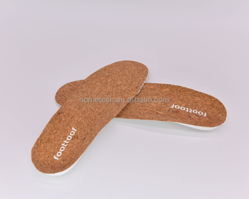Famous Brands Standards Cork Super-light Fashion Removable EVA Sport and Casual Shoe Insole, Shoe Pad