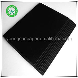 A4 black copy paper/120g 150g black kraft paper board